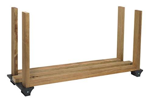 2x4basics 90144 Firewood Rack System, Black