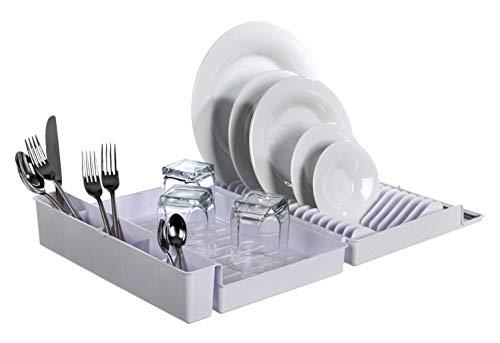 49Y10403 - Escurreplatos Plegable,Plástico Blanco