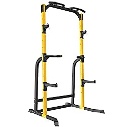 commercial ZENOVA power rack squat rack with J hook, power tower multifunctional fitness squat rack … tds safety stands