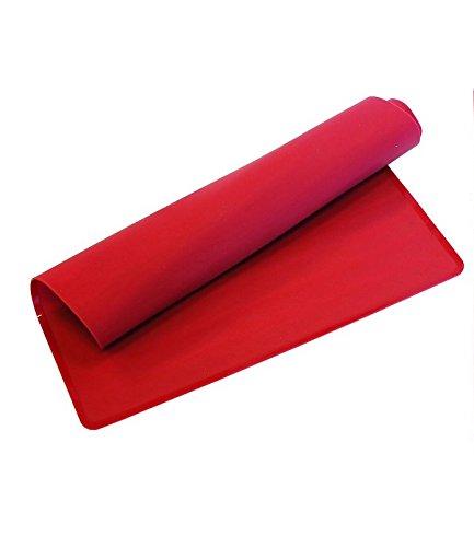 KAISER Backblech-Auflage 40 x 30 cm KAISERflex Red 100% lebensmittelechtes Silikon spülmaschinengeeignet hohe Formstabilität und Flexibilität