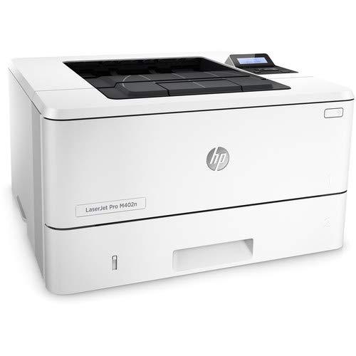 HEM402N Laserjet Pro M402n Monochrome Laser Printer, Ethernet, Up to 40 PPM, 600x600 Dpi