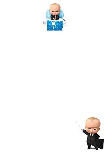 25 A5 The Boss bébé Motif/d'écriture sur le thème des petits Établissements papier – Uni papeterie