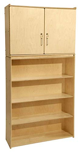 Contender 4 Shelf Storage and Cabinet - Assembled