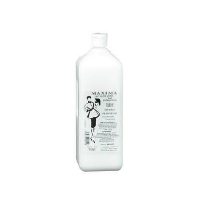 lait demaquillant visage aloe vera 1 litre nancy beaute
