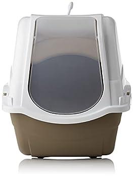 KERBL Litière Minka pour Chats 57 X 39 X 41 cm Taupe/Crème