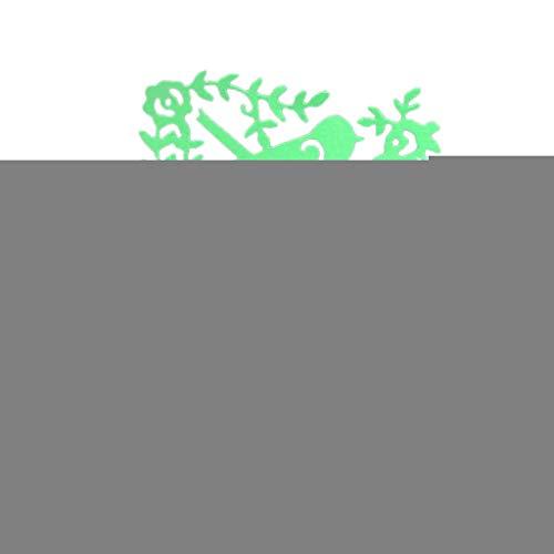 FNKDOR Stanzschablone Scrapbooking Stanzmaschine Schneiden Stanzen Stanzformen Schablonen, Zubehör für Sizzix Big Shot und andere Prägemaschine (D)