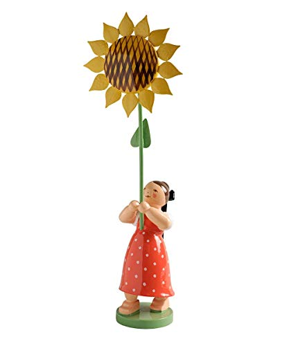 Wendt und Kühn 5248/7 Mädchen mit Sonnenblume
