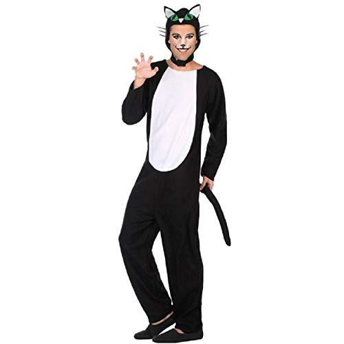 Atosa-38769 Disfraz Gato, Color Negro, XL (38769)