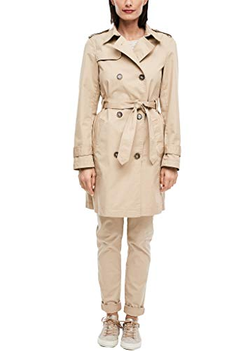 s.Oliver RED Label Damen Trenchcoat im klassischen Style beige 38