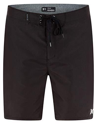 Hurley Herren Badeshorts One and Only Boardshort, schwarz, 34 EU, KHW2Y0150634