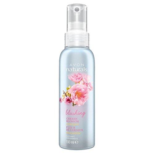 Avon Naturals Duftspray für Zuhause, sofortige Frische, 100 ml Cherry Blossom Scented
