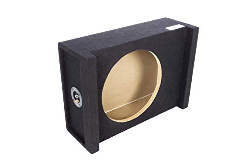 Atrend Bbox 12AME 12-Inch Single Sealed Shallow Mount Downfire Enclosure, black (12AME