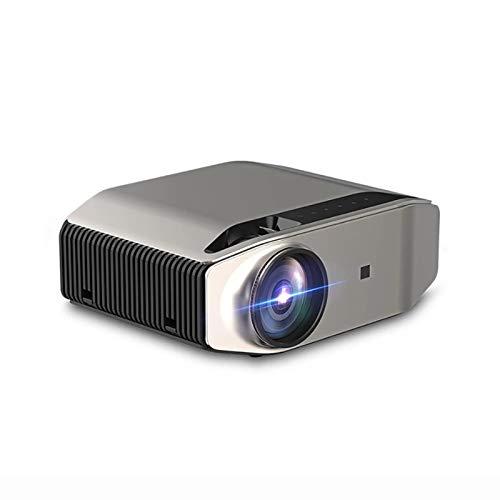 Proyector de 3600L Full HD, HDMI VGA USB Mini HD Home del hogar, WiFi inalámbrico Nativo de 1080p Multi-Pantalla,Normal Version