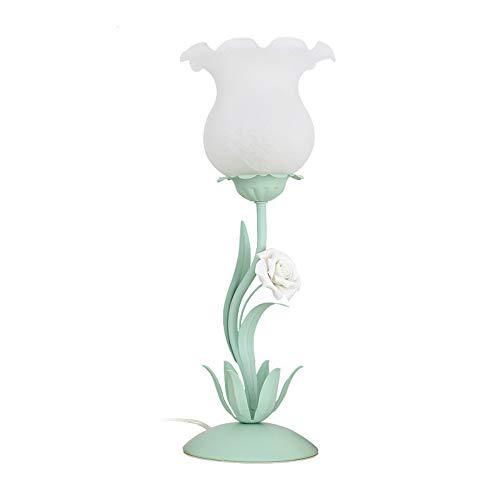 Koreaanse tuindecoratie, led-tafellamp, moderne decoratie voor binnen en buiten, decoratieve ijzeren bloemen, nachttafellampje, mooi meisjeskamerdecoratie, verlichting