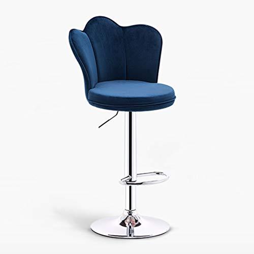 Chaises de réception Chaise Haute de Cuisine à Domicile Tables et chaises de Bar Chaise de Banque Tabouret de Bar Chaise de Personnel de la société Chaise Longue de Salon Blue Seat
