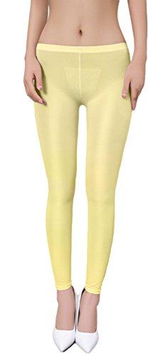Zukzi Womens Sexy Lingerie See Through Leggings...