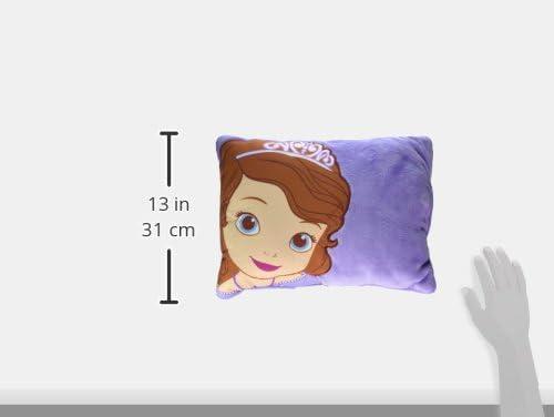 Pink Disney Princess Decorative Toddler Pillow
