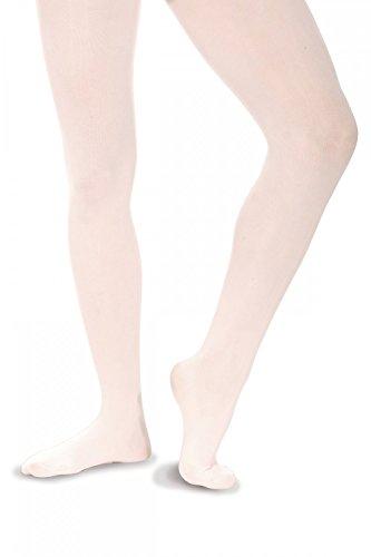 Roch Valley EBT Ballett Strumpfhose ohne Naht Weiß 3-5 Jahre