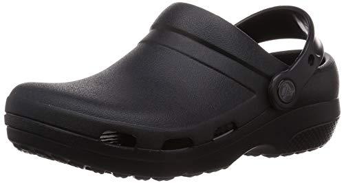 Crocs Specialist II Vent Clog, Zuecos Unisex Adulto, Negro (Black 001), 39/40 EU