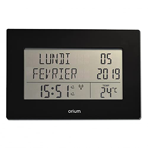 Horloge calendrier Radio contrôlée Memento