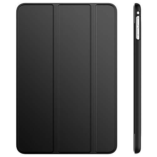 JETech Hülle für iPad Mini 5 (2019 Modell 5. Generation), Intelligent Schutzhülle mit Auto Schlafen/Wachen, Schwarz