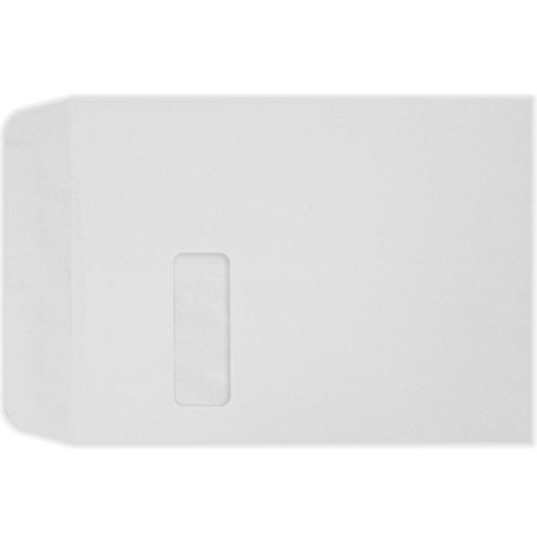 9 x 12 Open End Window Envelopes - 28lb. Bright White (500 Qty.)   Perfect for Tax Season, Sending Catalogs, Pamphlets, Brochures and so Much More!   28lb Paper   1590-500