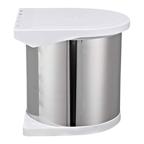 QIQIDEDIAN vuilnisbak ingesloten verborgen kast in keuken ingebouwde rvs kast prullenbak kan creatief