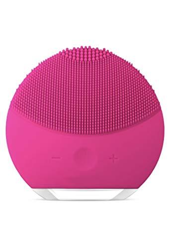 Esponja Escova Massageadora e Esfoliante para Limpeza Facial (Rosa Claro)