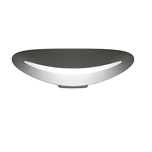 Artemide Mesmeri Lampada LED, 28 watts, 2700°K, Bianco, alluminio