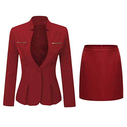 WZW Work Business Pant Suits 2 Piece Double Breasted Stripe Blazer Jacket&Pant Office Lady Suit Light Blue