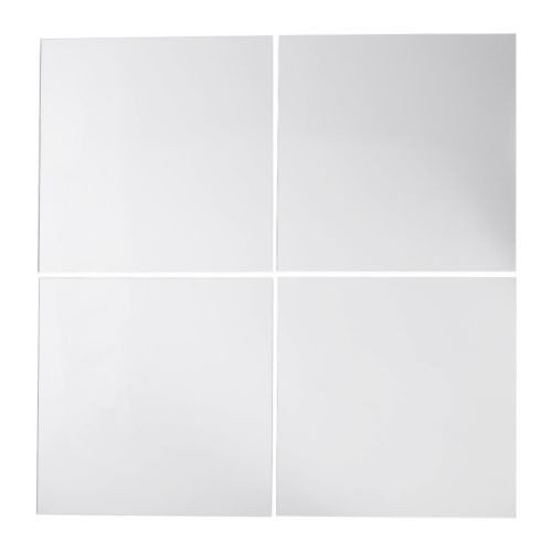 Ikea Lots - Set of 4 mirrors, 30 x 30 cm