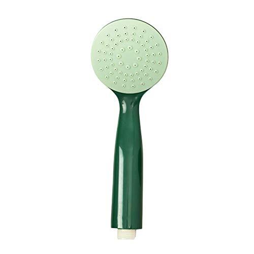 MAJFK Alcachofa de ducha iónica de alta presión con filtro ajustable, diseño de presión para alcachofa de ducha de baja presión de agua y alta presión, color verde