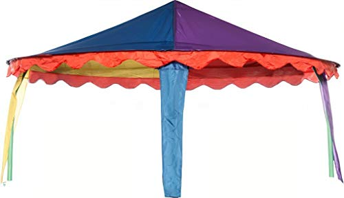 trampoline Canopy circus tent oval 3.05 x 4.57 meters