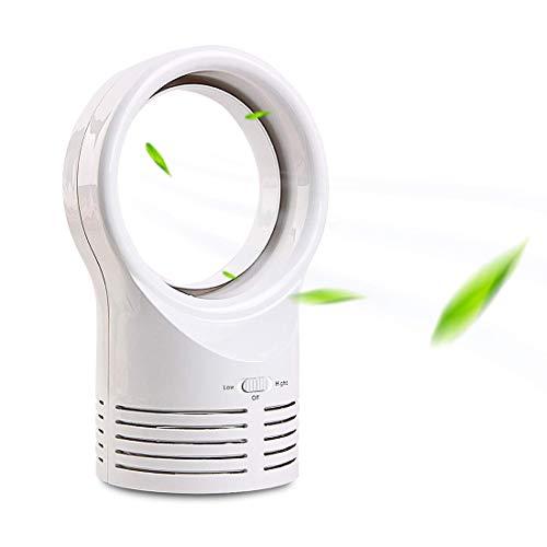 Fan-wyx Lüfterloser Lüfter, tragbarer persönlicher Luftkühler-Desktop-Luftmultiplikator-Tischlüfter, sicherer leiser Tischventilator tragbarer langlebiger Leichtgewichtler für Zuhause Schlafzimmer