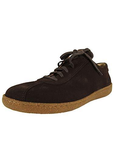 Mobils Ergonomic Nature is Future Mens Lenni Oxford Shoes, Dark Brown, US 9.5