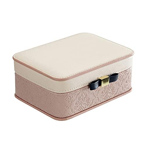 Caja Joyero Caja de Joyas Caja de joyería Moderna portátil de joyería de joyería Contenedor de Gran Capacidad Jewlery Organizer Collares Titular de Regalo Embalaje Ewelry Organizer