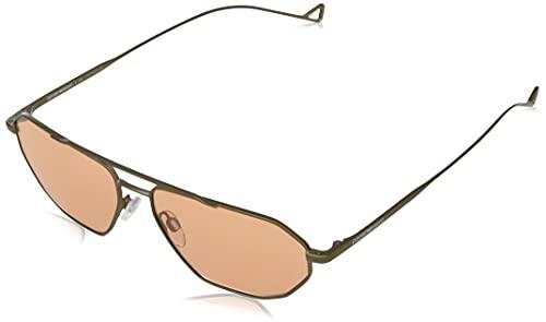 Emporio Armani Gafas de Sol EA 2113 Matte Bronze/Orange 58/15/140 hombre