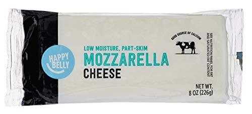 Mozzarella Cheese Block, 8 Ounce