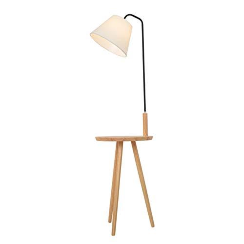 Lampes de chevet Lampadaire Cadre De Table Salon Chambre À Coucher Simple Stockage Moderne Lampe De Table Basse Lampe De Table Verticale Lampe De Table (Color : Blanc, Size : 38 * 140cm)
