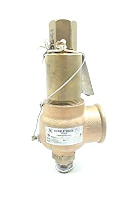 KUNKLE ABBBE 912BEDM01-KE Bronze Relief Valve 70PSI 3/4 X 1-1/4IN D637664 by KUNKLE