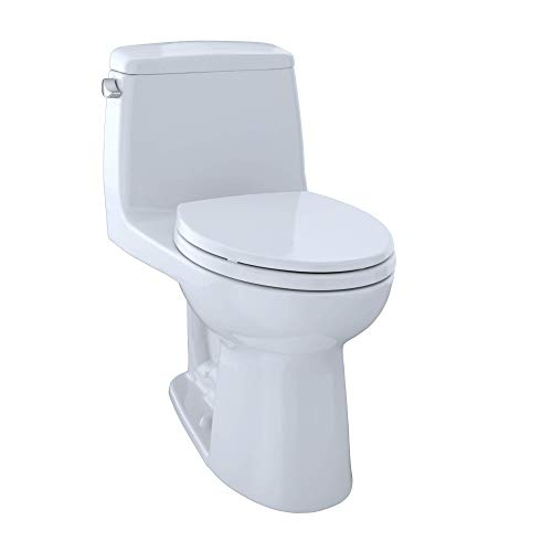 TOTO MS854114#01 Ultimate Elongated One Piece Toilet, Cotton White