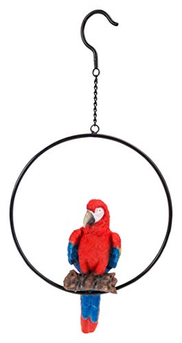 Vivid Arts Hanging Red Macaw