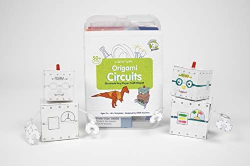 Brown Dog Gadgets Origami Circuits Kits - Standard Set - Creative Engineering Circuit Science STEAM Building Kit - DIY Project for Kids, Teens and Adults