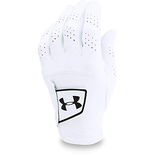 Under Armour Men's Golf UA Spieth Tour Glove, White, RLG