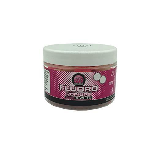 Mainline Karpfen - Fluro Pop Ups 14mm Pink u. White Cell