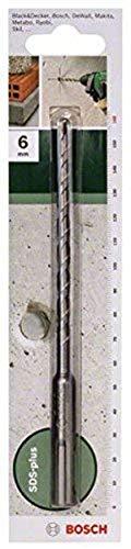 Bosch 2609255507 160mm SDS-Plus Hammer Drill Bit with Diameter 6mm