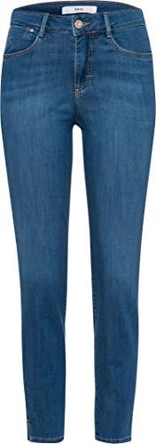 BRAX Damen Style Shakira S Verkürzte Denim Jeans, Used Light Blue, 46W / 30L