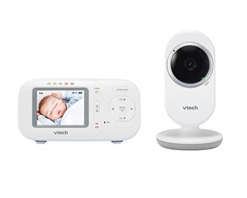 Vtech 80-301758 Babymonitor VM320, Babyphon, Mehrfarbig