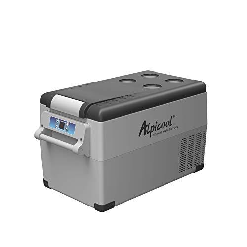 Alpicool CF35 Portable Refrigerator/Freezer 37 Quart(35 Liter) Vehicle, Car, Truck, RV, Boat, Mini Fridge Freezer for Driving, Travel, Fishing, Outdoor-12/24V DC