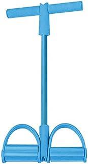 greenwoodner 1pcs多功能健身器材脚蹬拉力器男女手臂仰卧起坐训练瑜伽手柄配件(蓝色)